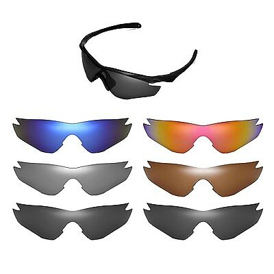 Walleva Replacement Lenses for Oakley M2 Sunglasses - Multiple Options