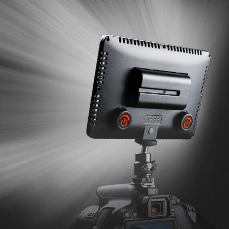 LED Video Light Fill Light Lamp Panel for DSLR Camera Photography Lighting