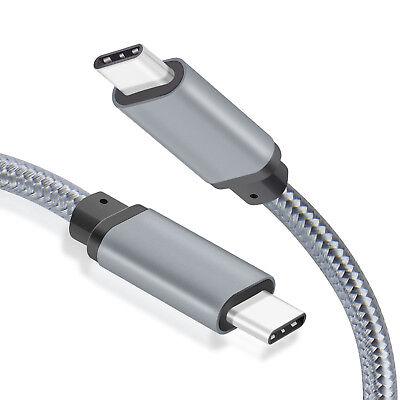 WGGE METAL USB C 3.1 Type-C to USB C 3.1 Type-C Cable (5GB/s)  6.6 feet