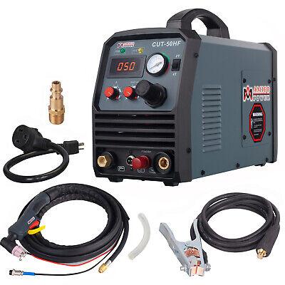 Cut-50hf 50 Amp Plasma Cutter Non-touch Pilot Arc 95v260v 35 In. Clean Cut