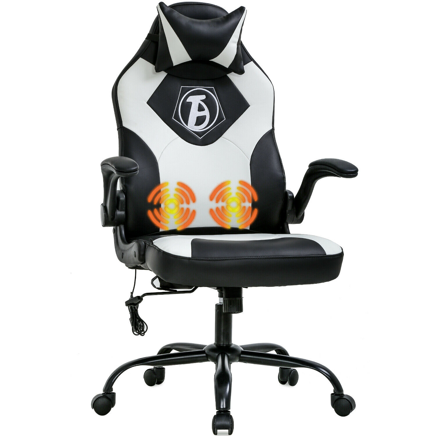 Gaming Chair Computer Chair Desk Chair PU Leather Adjustable