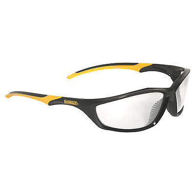 Dewalt Router Safety Glasses Clear Anti-fog Lens With Black Yellow Frame