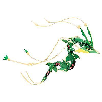 Pokemon Center Mega Green Rayquaza Plush Toy Figures Dolls