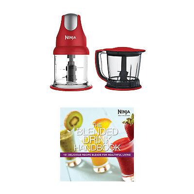 Ninja Expert 400W Blender Mixer & Food Processor + Ninja Blended Drink Handbook