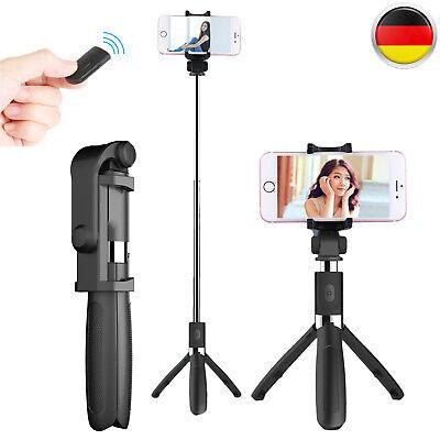 Bluetooth Selfie Stick Stange Stativ Monopod Handy Halterung Mit Fernbedienung Mono Clip
