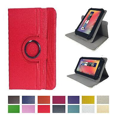 Tablet Schutzhülle für Huawei T1-701W Etui Case 7 Zoll Rot 360