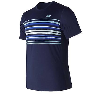 New Balance Men's Graphic Accelerate Tennis Crew T-Shirt
