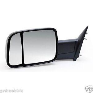 2009 2010 2011 2012 2013 dodge ram 1500 manual towing mirror driver left lh ebay. Black Bedroom Furniture Sets. Home Design Ideas