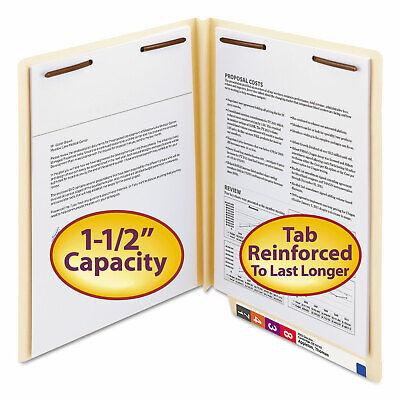 Smead W-fold Manila Expansion Folders Two Fasteners End Tab Letter Manila 50box