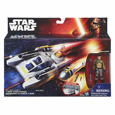 Star Wars Rebels Y-Wing Bomber & Kanan Jarrus Action Figure NEW