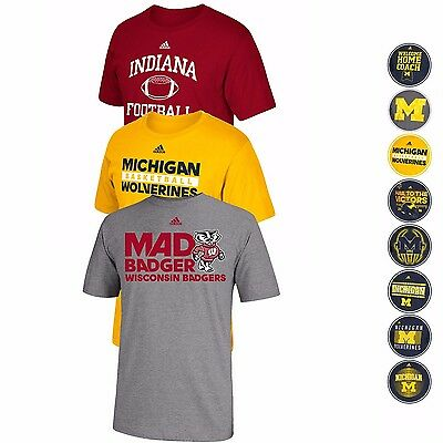 Ncaa Adidas Various Team Graphic Logo T Shirt Collection Mens