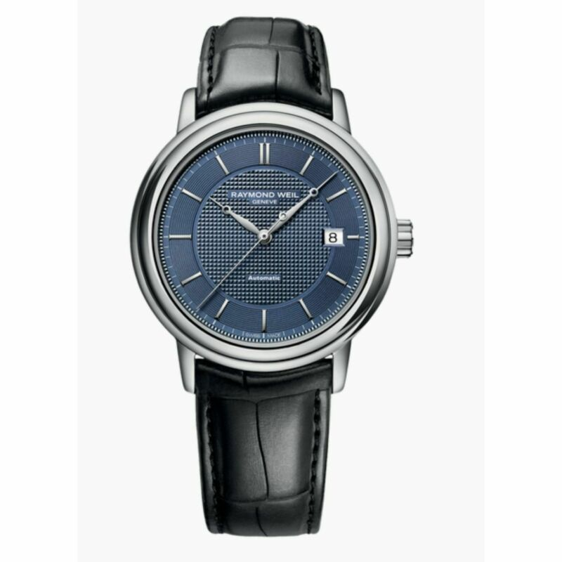 Raymond Weil 2837-STC-50001 Men Maestro Blue Automatic Watch