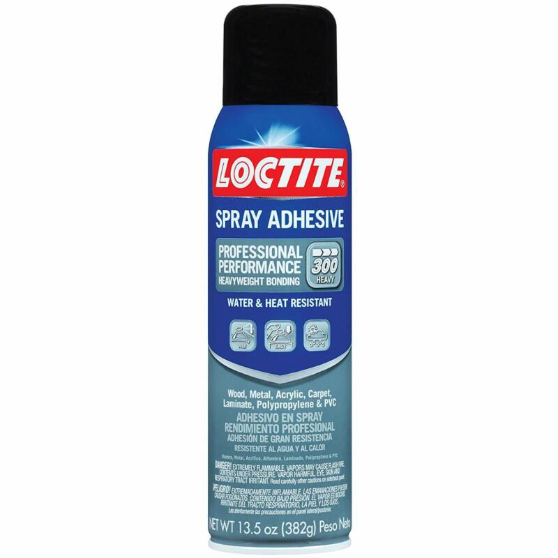 Loctite 2267077 6 Pack 13.5 oz. Professional Performance Spray Adhesive, Clear