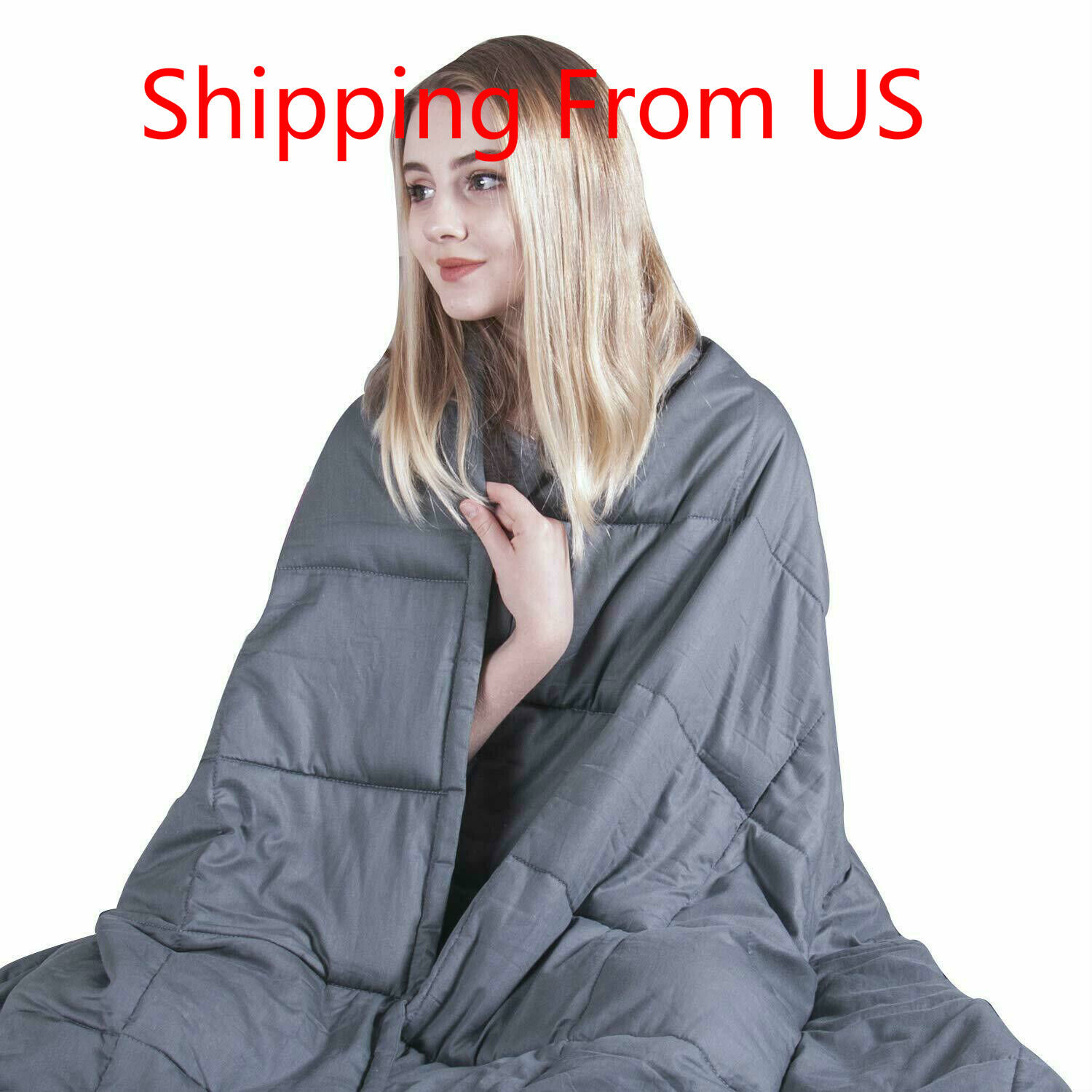 Christmas Gift  King Size Weighted Blanket  Premium Cotton