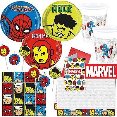 * MARVEL AVENGERS TEAM POWER * Alles für die Party -  Superhelden (Die Avengers Superhelden)