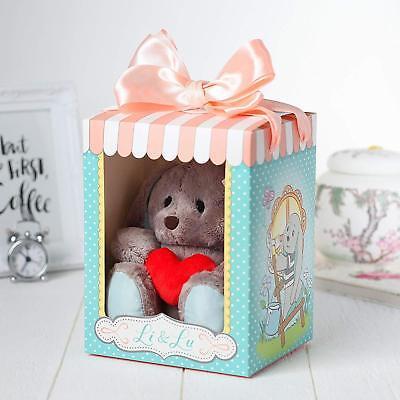 ka Li und Lu 25 cm mit Herz Plüsch Plüschtiere Valentinstag (Valentine Tiere)