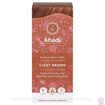 Khadi Herbal Hair Colour Light Brown 100g