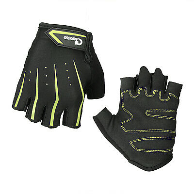 Best Mountain Bike Gloves Mens Riding Cycle Half Finger Hand Gloves for