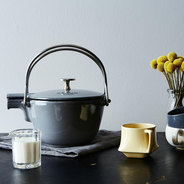 Staub Cast Iron 1.16-Qt Teapot Kettle - Brand New in Retail