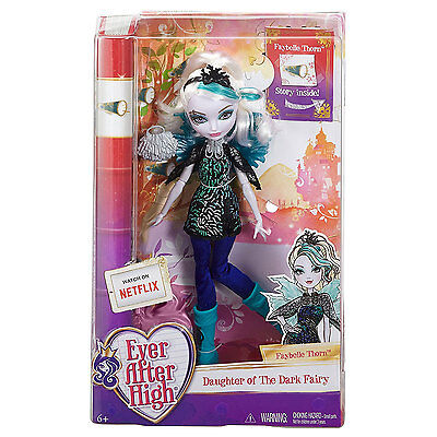 Ever After High FAYBELLE THORN Daughter of the Dark Fairy Doll (CDH56) by Mattel