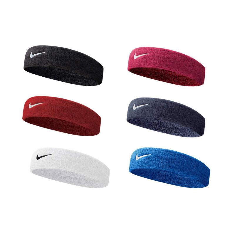 Nike Headband Swoosh Sports Running Workout Gym Sweat Band Unisex
