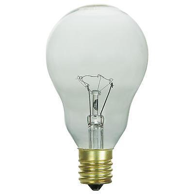 2 Pack Sunlite 40 Watt A15 Appliance Light Bulb Intermediate
