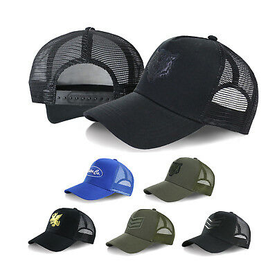 Beautiful Giant Men's Embroidered Adjustable Snapback Mesh Trucker Hat (Giant Mesh Hat)