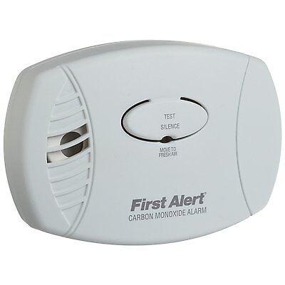 First Alert CO600 Plug In Carbon Monoxide Alarm Detector Home Safety