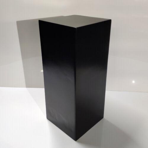 """36"""" Tall BLACK Display Pedestal Stand Riser Column Pillar - Weddings Parties"""