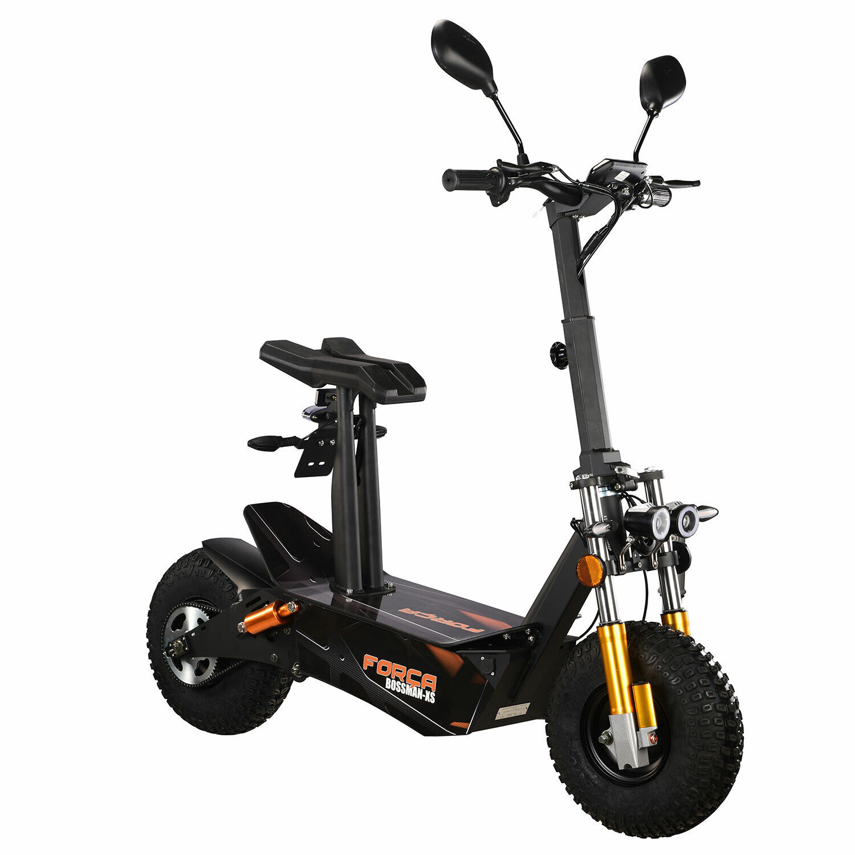 FORÇA Bossman-XS 3000W ElektroScooter 45 km/h E-Scooter ElektroRoller LITHIUM