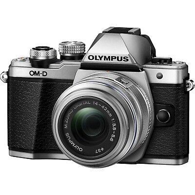Olympus OM-D E-M10 Mark II Digital Camera-14-42mmIIR Lens-Certified Refurbished
