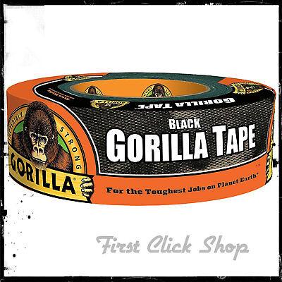 Gorilla Tape 1.88 In. x 35 Yd Black Heavy Duty Duct Tape Waterproof  In/ - Black Duct Tape