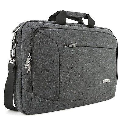 17 - 17.3 Laptop Messenger Bag, Evecase 17.3 Canvas Messenge