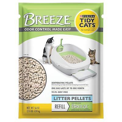 Purina TIDY CATS Breeze Cat Litter Pellets Refills net weight 3.5 lbs