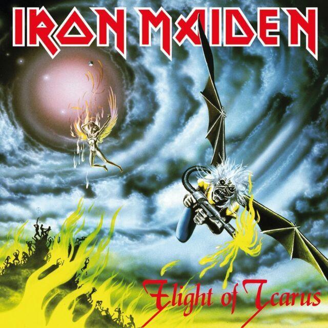 IRON MAIDEN - FLIGHT OF ICARUS  VINYL SINGLE NEU