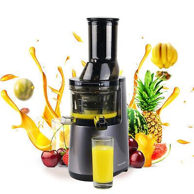 Chiefly Slow Juicer Extra Wide Feed Chute Masticating Juice Extractor Heavy Duty