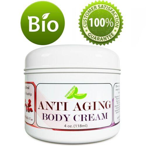 Anti Aging Body Cream 4 Oz | Reduce Fine Lines + Wrinkles +