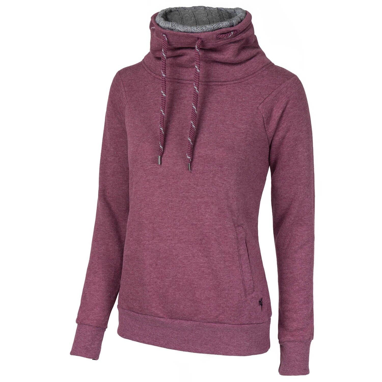 ONLY Damen Sweatshirt Pulli Pullover Funnelneck Strick Turtleneck onlVANESSA
