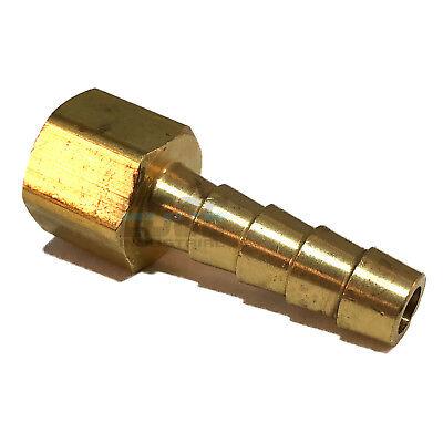 14 Hose Barb X 18 Female Npt Brass Pipe Fitting Npt Thread Gas Fuel Water Air