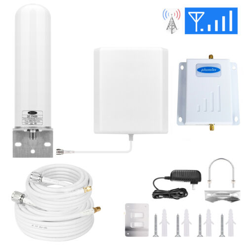 Omni AT&T Cell Phone Signal Booster Amplifier AT&T Cricket Signal Booster B12/17