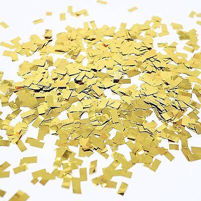 Metallic Gold Foil Shredded Confetti Paper Glitter Party Decoration Gold Glitter