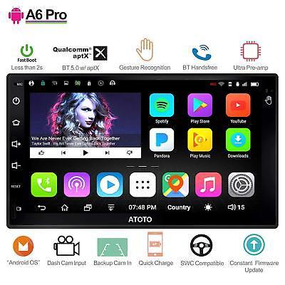 ATOTO A6 Pro 2DIN Android Car GPS/A6Y2721PR-G/Dual BT w/ aptX/Gesture Operation