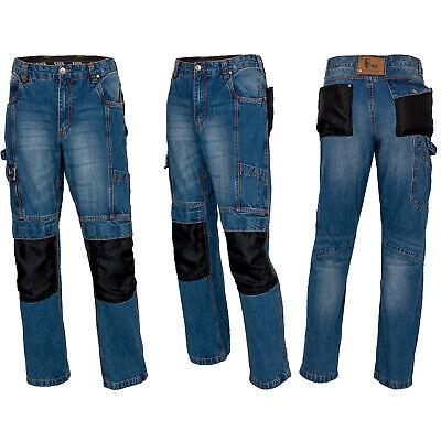 Arbeitshose Jeans Schutzhose Bundhose Baumwolle Funktion-Taschen(CXS-JEANS)