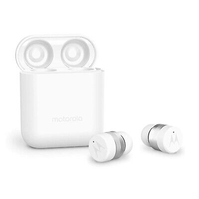 Motorola Verve Buds 110 White Bluetooth Earbuds Wireless & C