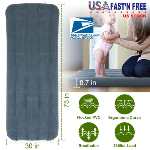 Air Bed Mattress Inflatable Sleeping Camping Bed Pad Electri