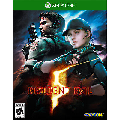 Resident Evil 5 HD Xbox One [Brand New]