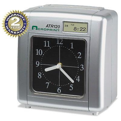 Acroprint Model Atr120 Analoglcd Automatic Time Clock 010212000