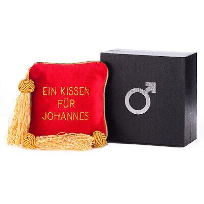 Scherzartikel Ein Kissen für Johannes Spaßartikel Gadget Männer Erotik Spaß