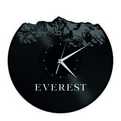 Everest Vinyl Wall Clock Unique Gift for Friends Home Living Room Decoration