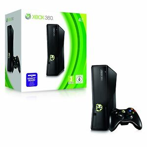 New Xbox 360 S Elite Slim Line Black 4GB UK PAL Console